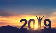 person celebrating in 2019