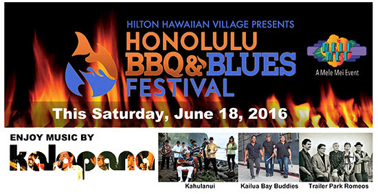 Hilton Hawaiian Village presents Honolulu BBQ & Blues Festival