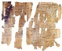 Рукопись 1 книги Царств из 1-й пещеры (нажмите, чтобы увеличить изображение