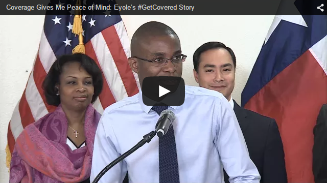 YouTube Embedded Video: Coverage Gives Me Peace of Mind: Eyole's #GetCovered Story