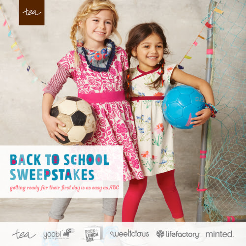 Back to School Sweepstakes at Tea Collection!