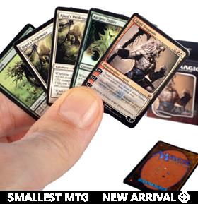Magic: The Gathering World's Smallest Ajani vs. Nicol Duel Decks