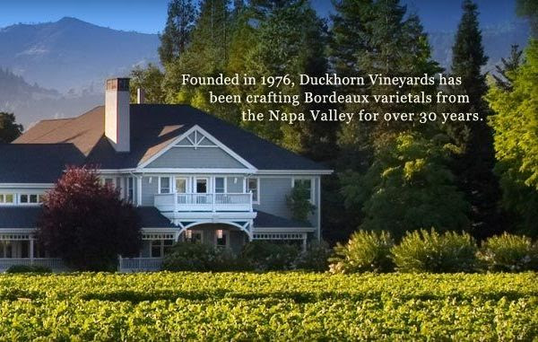 Duckhorn Vineyards in the Napa Valley - the producer of Epic California Cabernet Sauvignon
