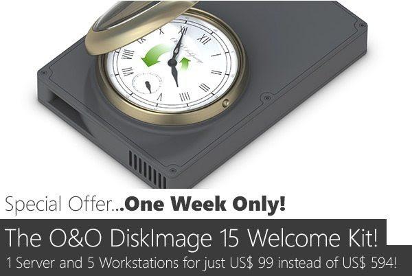 O&O DiskImage 15 Welcome Kit