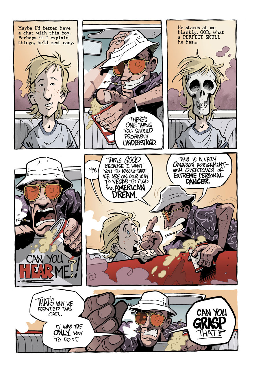 Hunter S. Thompson's 'Fear and Loathing in Las Vegas' becomes a graphic novel