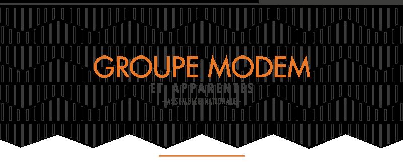 Site Web des Députés du Groupe MoDem et Apparentés