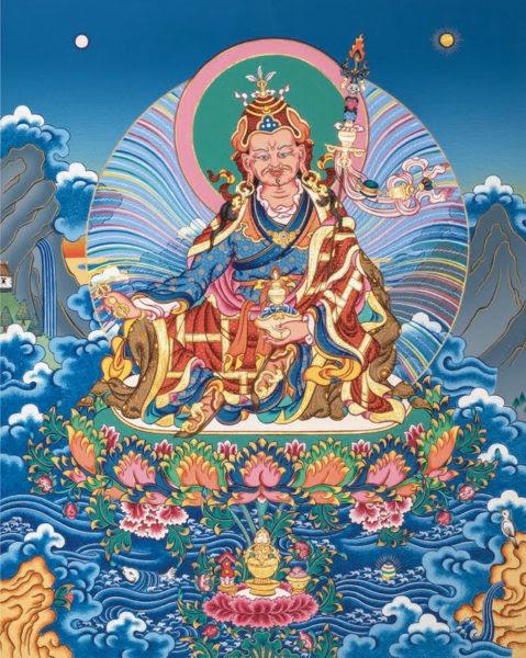 Padmasambhava by Andy Weber