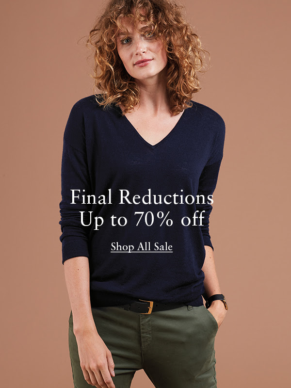 Final Reductions Up to 70% Off!