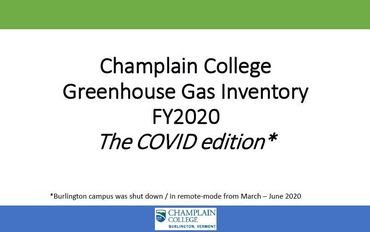 Complete FY2020 Greenhouse Gas Inventory