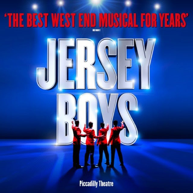 "Jersey Boys Piccadilly Theatre, London | Until 26 Mar 2017Tickets from £28.00Coming to the end of its spectacular West End run at London's Piccadilly Theatre, Jersey Boys tells the tale of Frankie Valli & The Four Seasons.Starting out as four ordinary guys from New Jersey and ending as international sensations, the smash-hit show features songs such as ""December 1963 (Oh What A Night)!"", ""Can't Take My Eyes Off You"" and ""Bye Bye Baby""."
