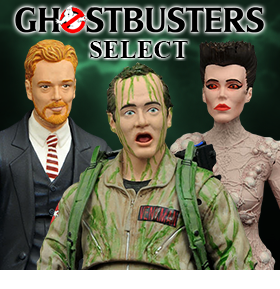 GHOSTBUSTERS SELECT SERIES