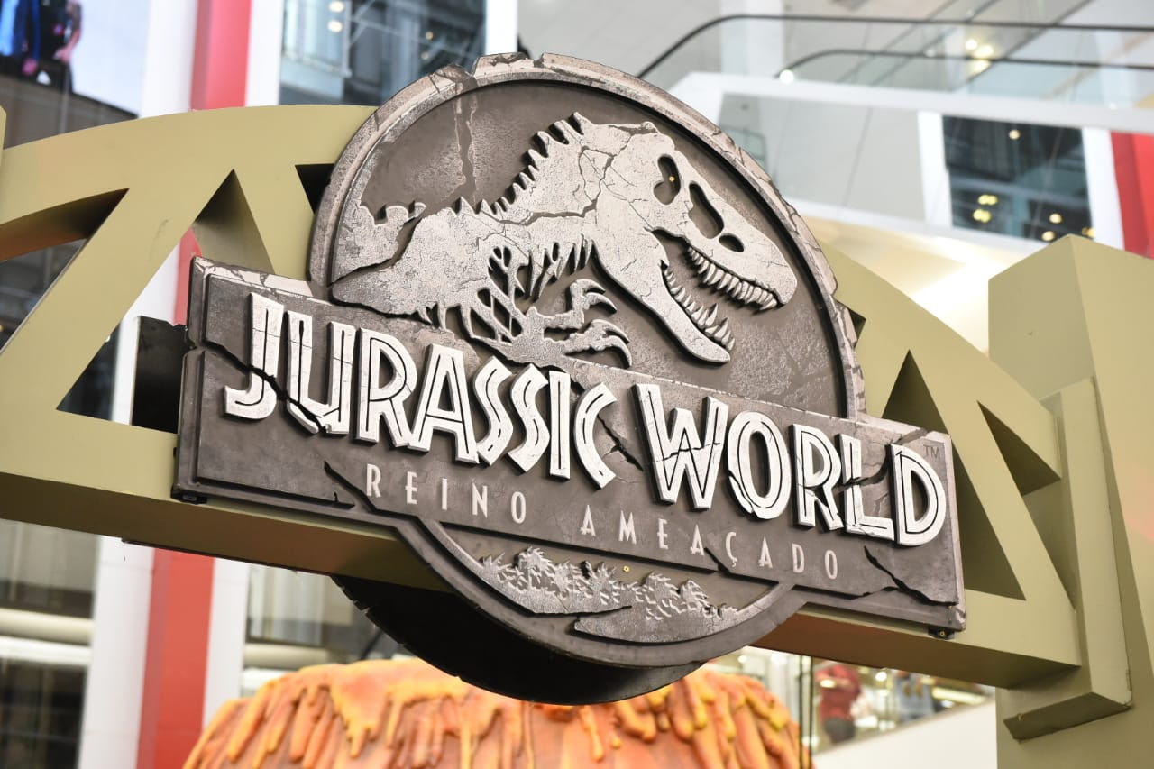 Em última semana de aventuras, parque temático Jurassic World agita as férias no Taguatinga Shopping