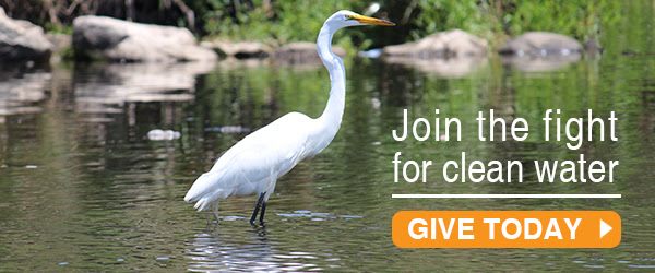 Join the fight for clean water - join today