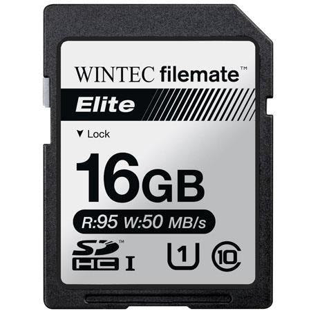 FileMate Elite 16GB UHS-I U1 Class 10 SDHC Flash Memory Card