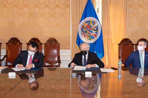 LA OEA y República Dominicana acuerdan fortalecer sistema electoral