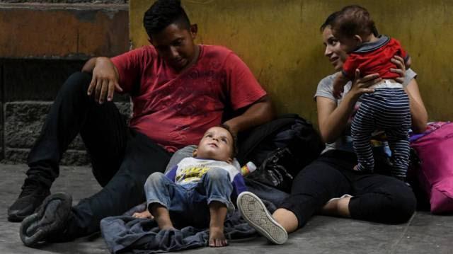A eterna espera dos migrantes hondurenhos rumo aos EUA