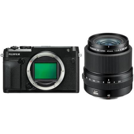 GFX 50R Medium Format Mirrorless Camera (Body Only) - With Fujifilm FUJINON GF 45mm F/2.8