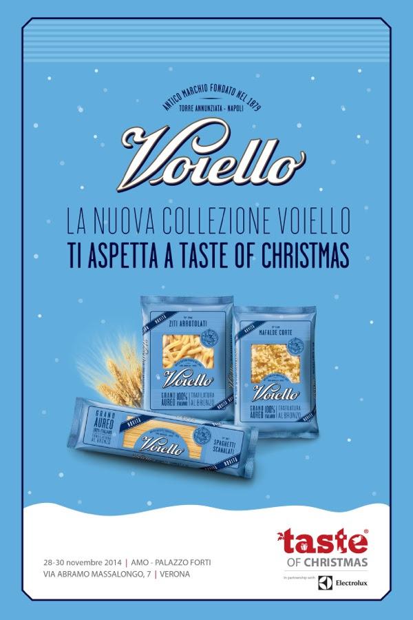 La nuova collezione Voiello ti aspetta a Taste of Christmas