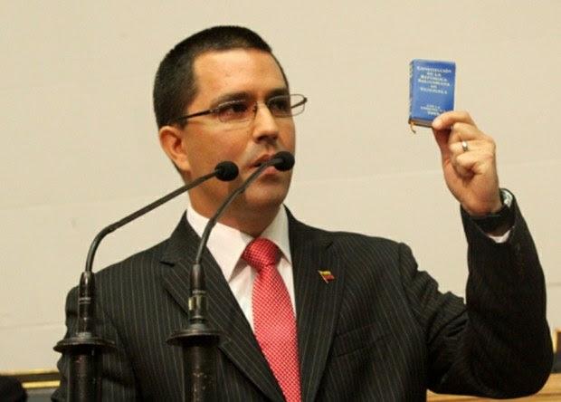 Vicepresidente Jorge Arreaza ofreció memoria y cuenta en el Parlamento.