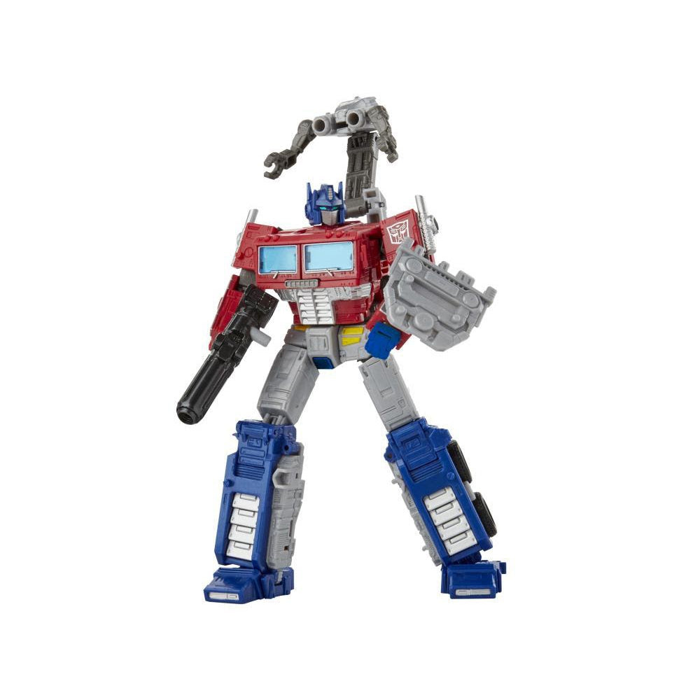 Image of War For Cybertron Earthrise Leader Wave 1: Optimus Prime with Trailer (RE-STOCK)