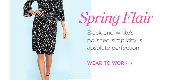 Spring Flair. Wear To Work