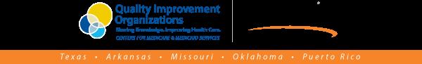 Logos Quality Improvement Organizations and TMF Quality Innovation Network Serving Texas Arkansas Missouri Oklahoma and Puerto Rico