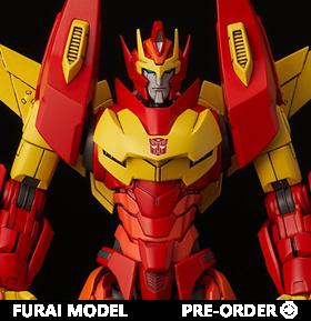 Transformers Furai Rodimus (IDW Ver.) Model Kit