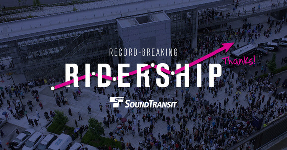 Record-breaking ridership