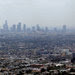 Smog blanketing downtown Los Angeles. The next major court fight between California and the Trump administration may involve greenhouse gas emissions.