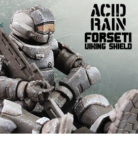 ACID RAIN FORSETI VIKING SHIELD