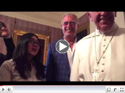 Pope and gay couple