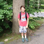 Jeremy Bramson on the last day of elementary school.
