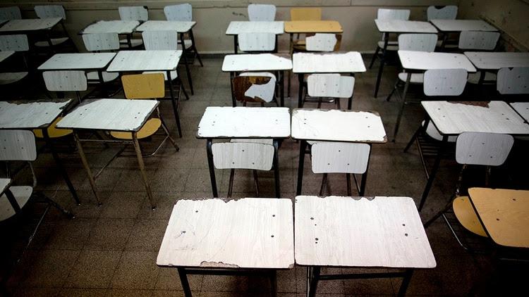 Las clases presenciales están suspendidas desde el 16 de marzo (AP)