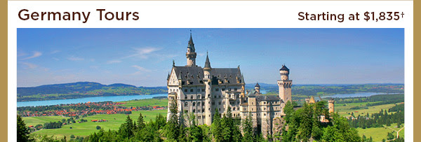 Germany Tours - Starting at $1,835+