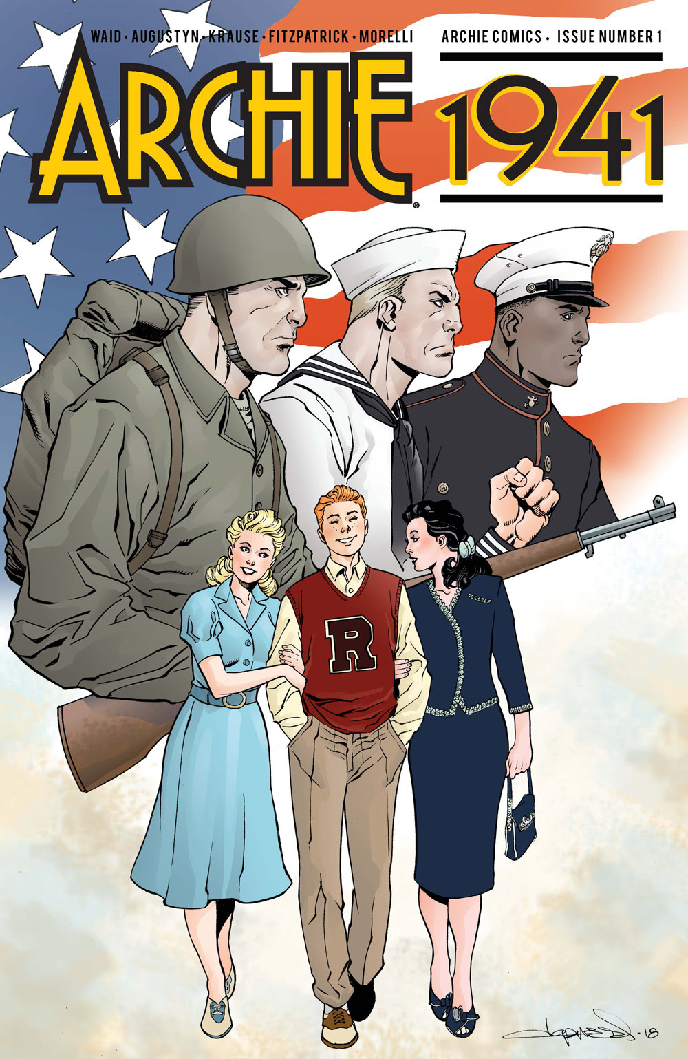 Archie 1941 #1: CVR E Lopresti
