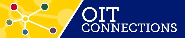OIT Connections banner