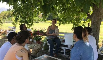 lesson at community garden 3