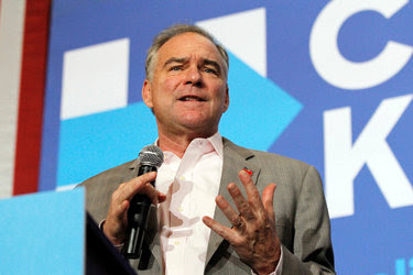 "<span data-tag=""tight__4"">Senator Tim Kaine, the Democratic vice-presidential nominee, at a rally Monday in Dayton, Ohio.</span>"