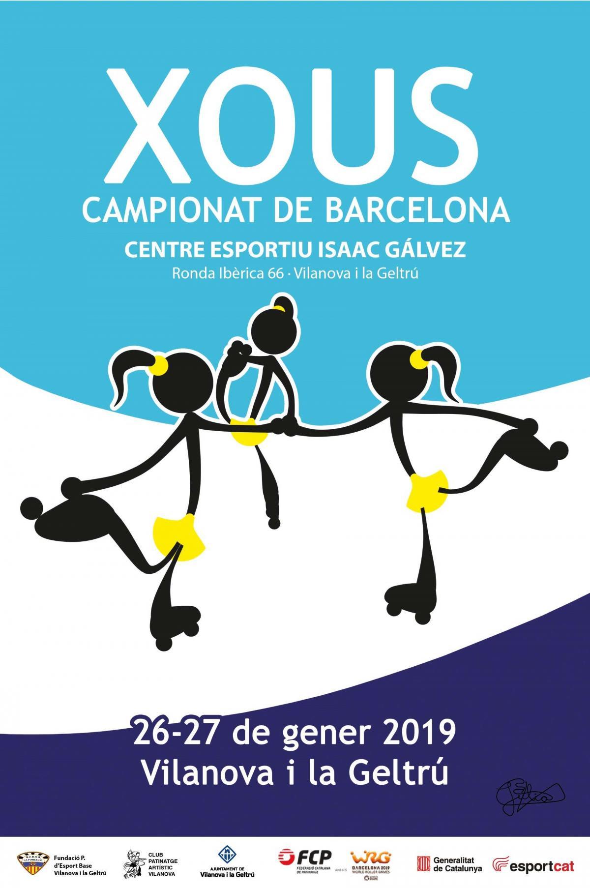 Resultado de imagen de cartell xou 2019 patinatge artistic