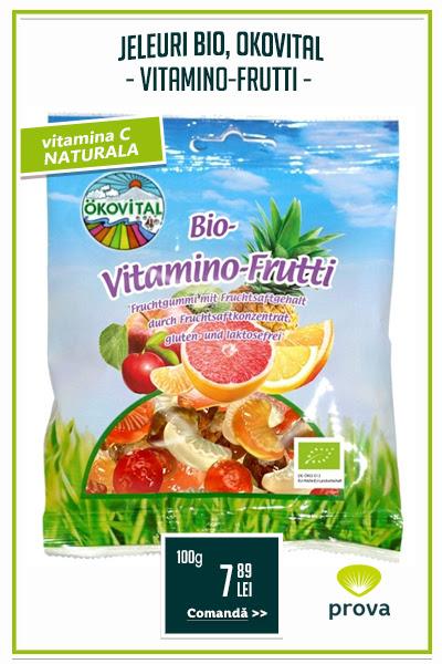 Jeleuri bio Vitamino-Frutti, fara gluten, 100g - Okovital