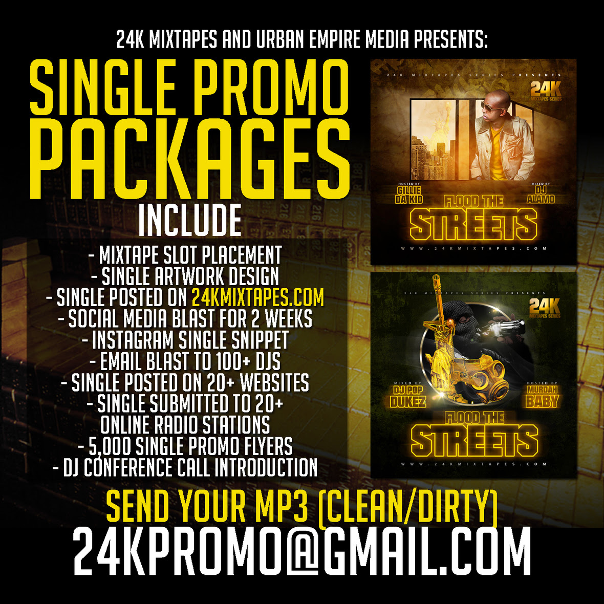 Single Promo Packages