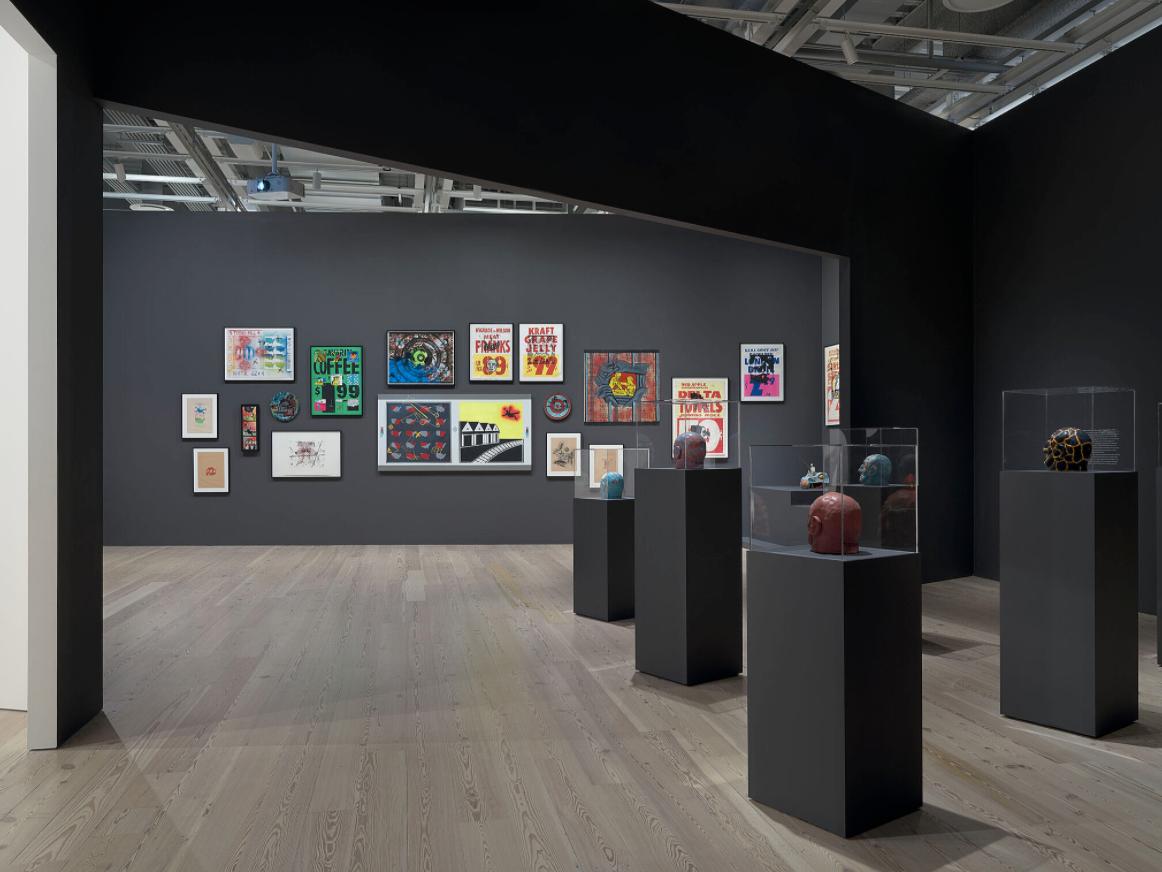 Installation view of David Wojnarowicz: History Keeps Me Awake at Night (Whitney Museum of American Art, New York, July 13–September 30, 2018).