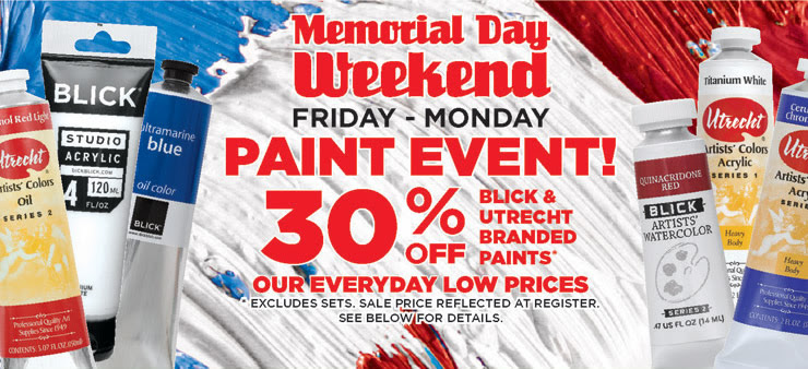 30% off Paint Event