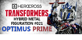 HYBRID METAL FIGURATION #021 OPTIMUS PRIME