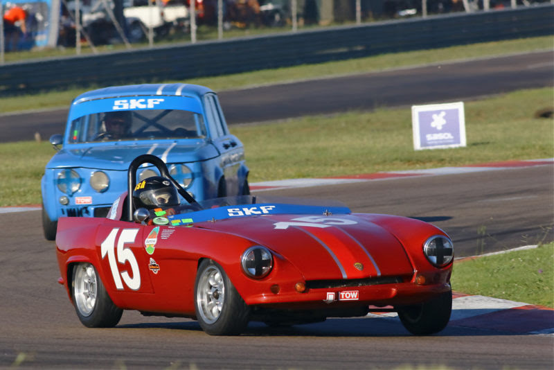 Ismael Baloyi has won two successive Legends of the 9 Hour Sports & GT championships in 2018 and 2019 in the Dart Alfa