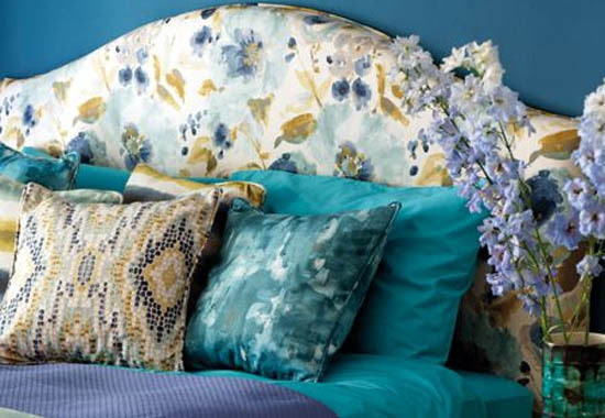 Painterly Florals Clarke and Clarke Artiste Fabric Collection