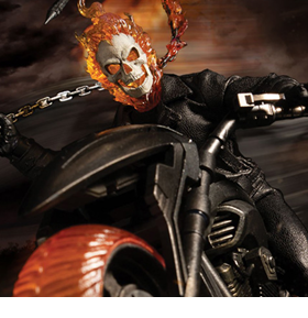Marvel One:12 Collective Ghost Rider & Hell Cycle Set