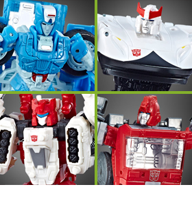WAR FOR CYBERTRON: SIEGE DELUXE FIGURES