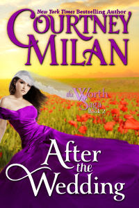Cover of After the Wedding by Courtney Milan