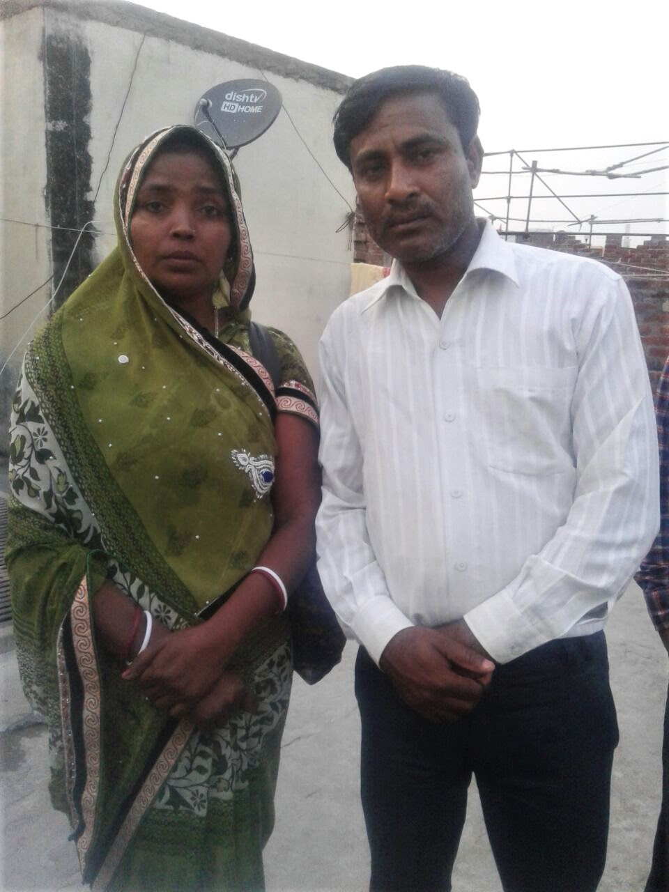 Pastor Rakesh Kumar Masih and wife Asha Masih. (Morning Star News)